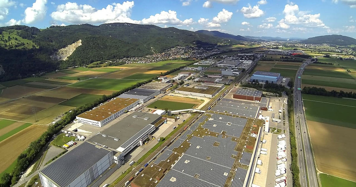 Largest Swiss Solar Power Plant