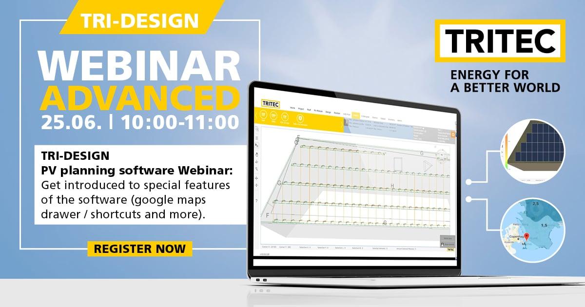 TRI-DESIGN Dimensioning Software Training - WEBINAR 1