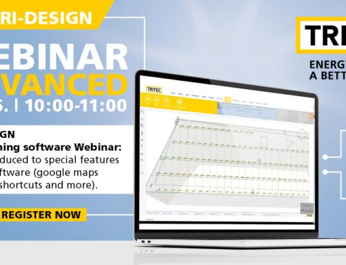 TRI-DESIGN Dimensioning Software Training – WEBINAR