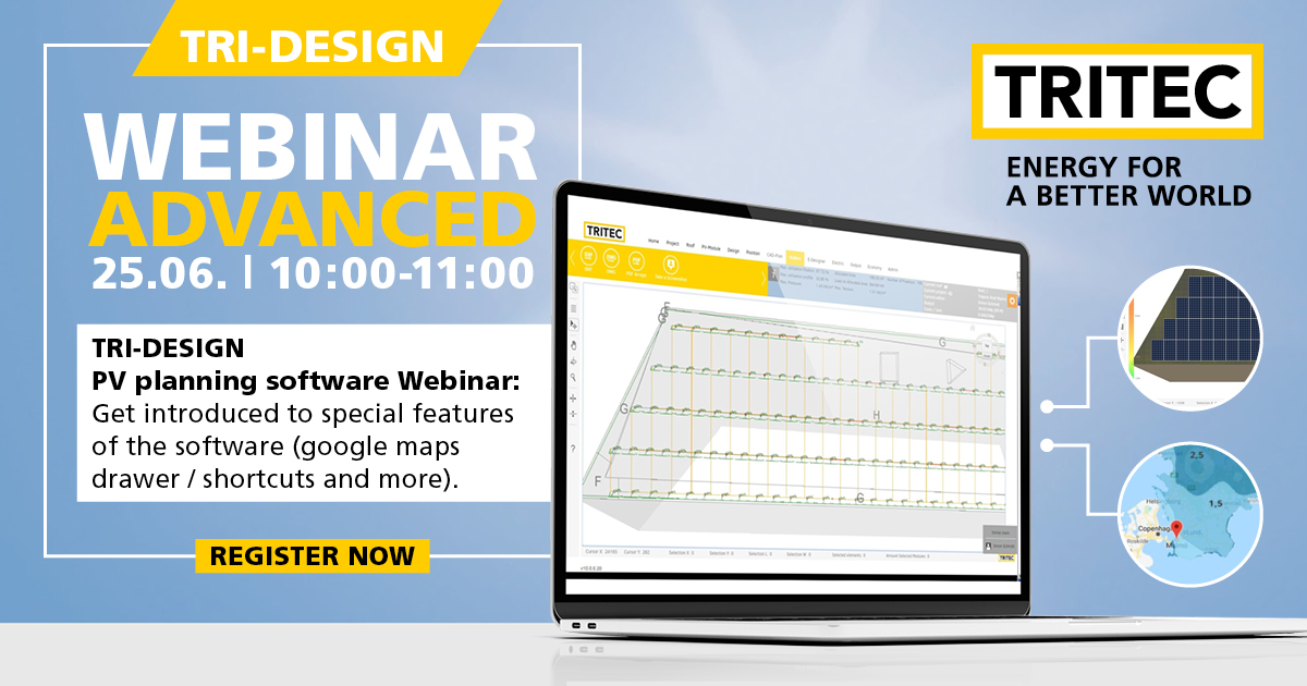 TRI-DESIGN Dimensioning Software Training - WEBINAR 1