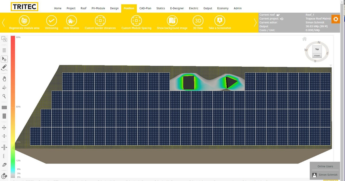 Photovoltaic Planning Software For Solar Systems Tri Design