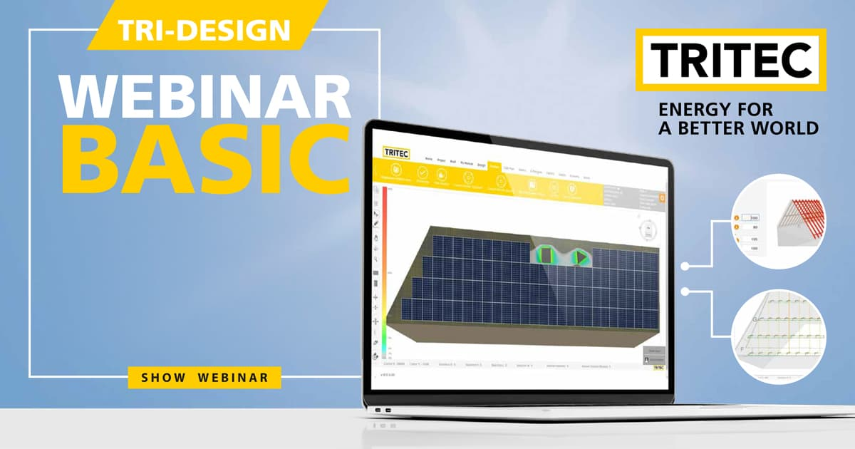 TRI-DESIGN Basic Training - Webinar 1