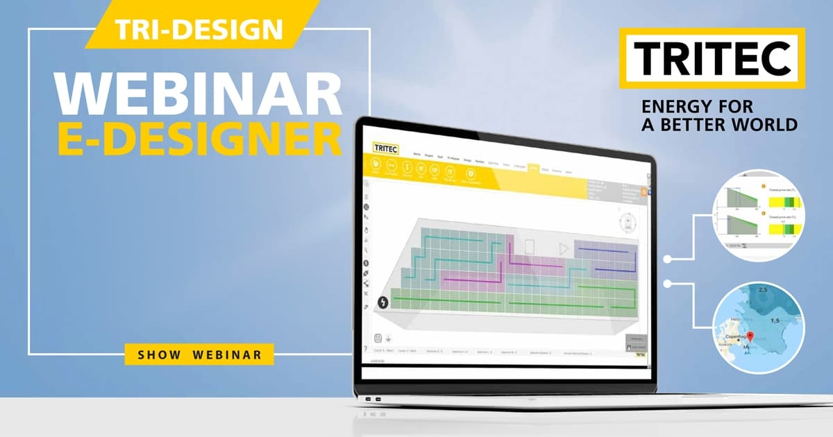 TRI-DESIGN E-DESIGNER Training - Webinar 2